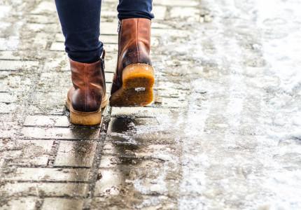 Avoid Slippery Sidewalks With Working Gutters