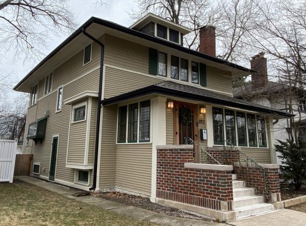 Historic Home Gutter & Gutter Guard Installation In Oak Park, IL